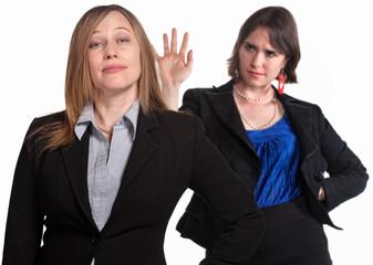 Lady Dismisses Her Boss