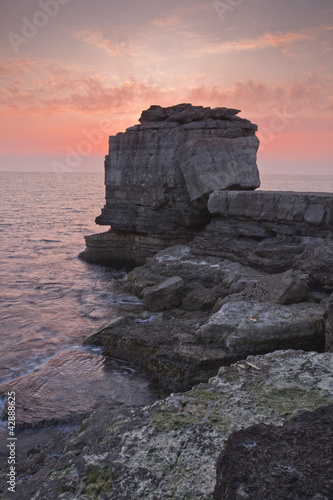 Pulpit Rock on Portland Bill in Dorset