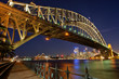 canvas print picture - Sydney Harbour Bridge 2