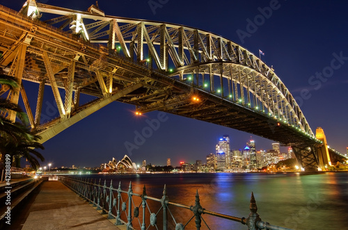 canvas print picture Sydney Harbour Bridge 2