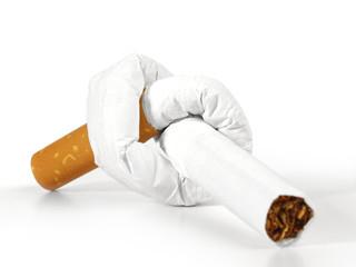 Zigarette mit Knoten