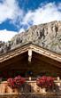 Berghütte in Tirol - Dolomiten - Alpen