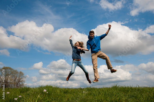 Happy jumping coupe