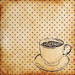 vintage coffee background