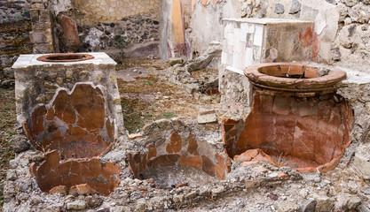 Roman Cooking Pots, Herculaneum