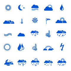 Icon Set Wetter