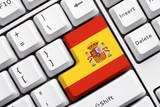 Fototapety Spain Button