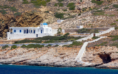 Beautiful chapel in Sifnos island, Cyclades, Greece