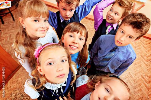 school faces
