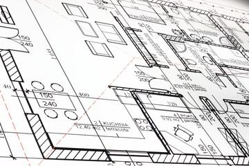 Projekt domu jednorodzinnego.