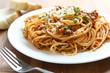 Leinwanddruck Bild - Spaghetti