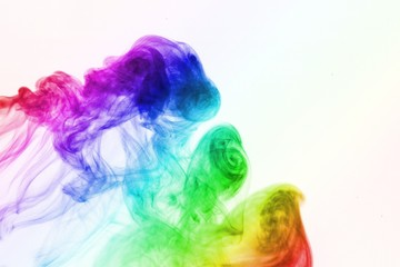 abstract colored smoke background