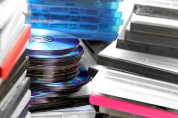 DVD Stapel