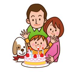 誕生日 家族