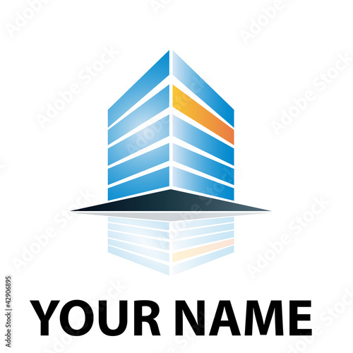 Abstract Logo Hosting # Vector