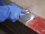 welding with mig-mag method poster