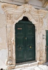 Jurleo palace. Ostuni. Puglia. Italy.