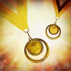 2012 medals