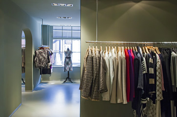 inside of boutique