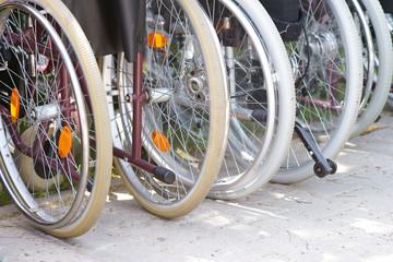 Rollstühle, wheel chairs