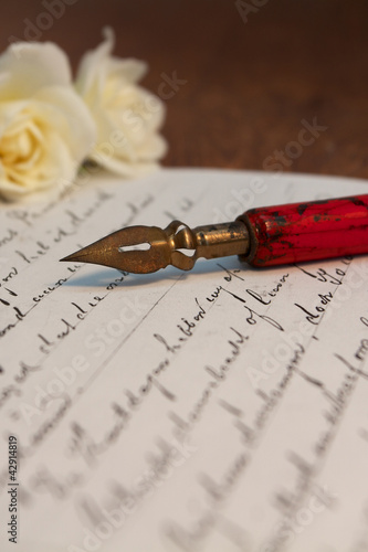 Pen and letter