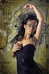 Portrait of a beautifu lady