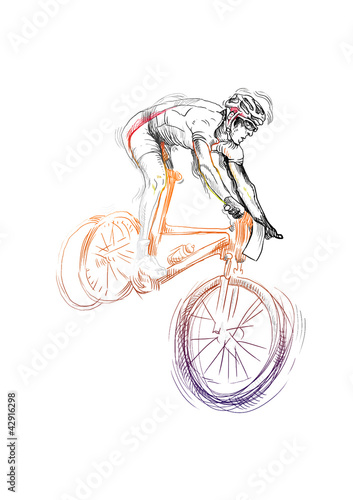 cyclist © kuco