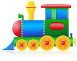 children locomotive vector illustration - 42917854