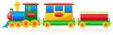 children train vector illustration - 42917863