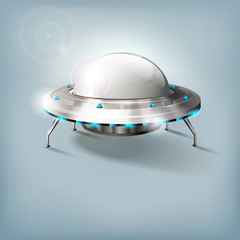 Unidentified flying object - UFO - vector file