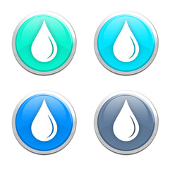 Water drop / droplet icons
