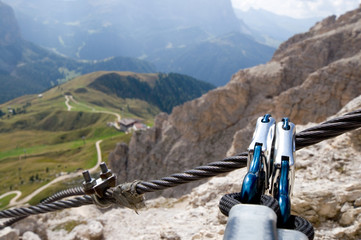 Klettersteig - Sellagruppe - Dolomiten - Alpen