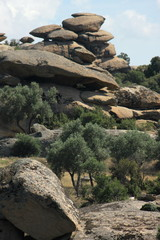 yatagan rock formation in turkey