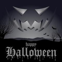 """vector template """"happy halloween"""""""