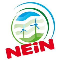 Windkraft Gegner Anti Demo Wutbürger keine Windräder