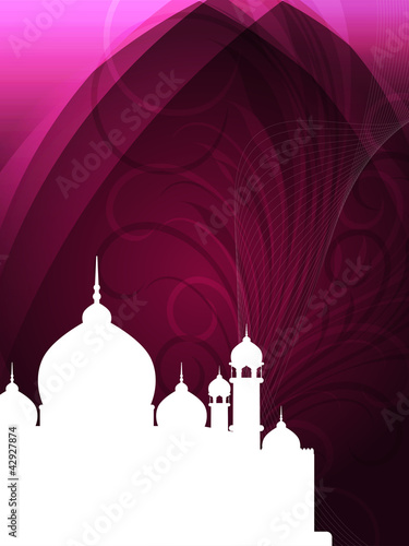 abstract religious eid background. Vector illustration