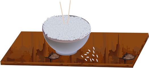 zuppiera di riso