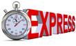 Stoppuhr Express