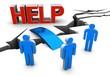 help bridge