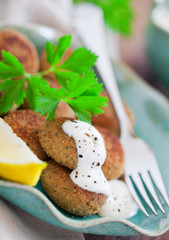 Fish cutlets