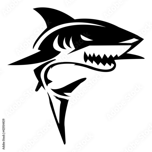 Fototapeta Shark Illustration