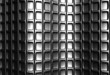 Abstract silver square pattern 3d background