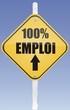 panneau 100% emploi