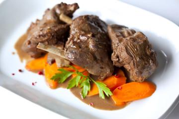 Cuisine, aliment, gastronomie, civet, lièvre, gibier, plat
