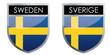Sweden flag emblem