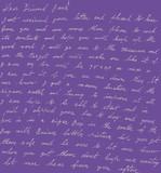 Handwriting Wallpaper
