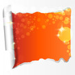 papierriss orange - lichter
