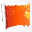 papierriss orange - lichter