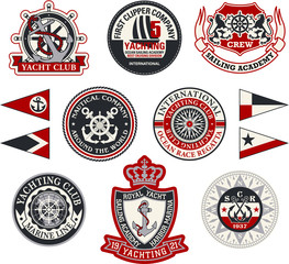 Yachting badges