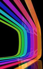 Rainbow shapes